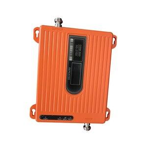 Image 2 - ЖК дисплей высокой мощности 70 дБ двухдиапазонный GSM 900 МГц wcdma 2100 МГц 3G усилитель сигнала мобильного телефона ретранслятор