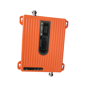Image 2 - LCD High Power 70dB Dual Band GSM 900 MHz wcdma 2100 MHz 3G Mobile Phone Signal Booster Amplifier Repeater