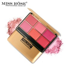 South American Style Blush Cosmetic Natural Blusher Powder Palette Charming Cheek Color Makeup Face Blush Makeup недорого