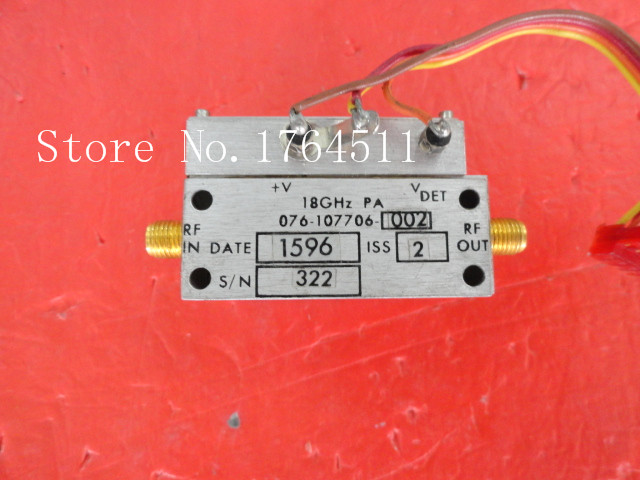 [BELLA] HARRIS 076-107706-002 18GHz SMA Amplifier