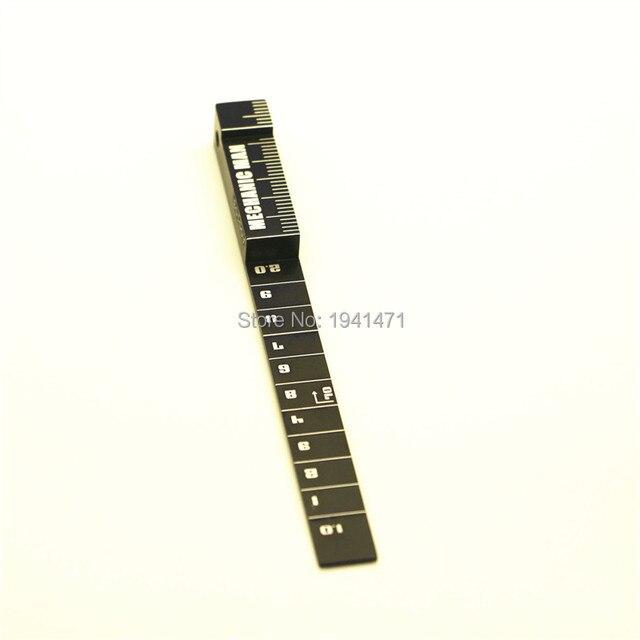 POPIGIST Mini 4wd Professional Tool:  Ruler Self-made Parts For Tamiya MINI 4WD Professional Tool:  Ruler J011 1Pcs/lot