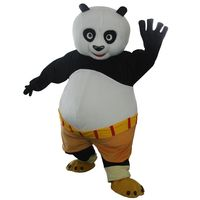 High quality adult Kungfu Panda Mascot Costume Kung Fu Panda Mascot Costume Kungfu Panda Fancy Dress Free Shipping