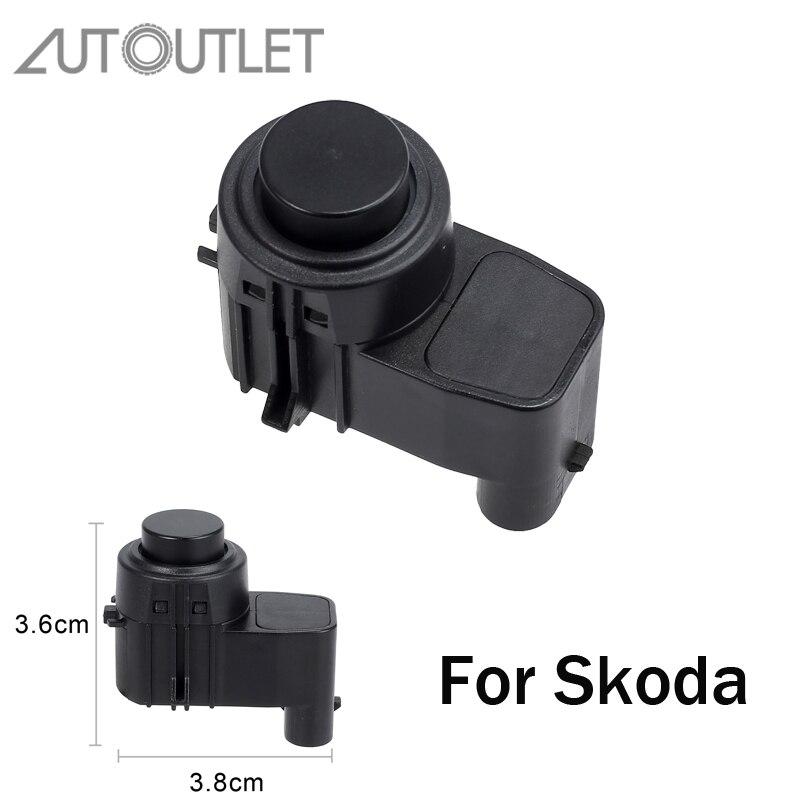 AUTOUTLET Reverse Backup Unterstützen PDC Parkplatz Sensor Für SKODA Fabia I II 545 Roomster Praktik 5J0919275A OE 5J0919275A 5J0919275