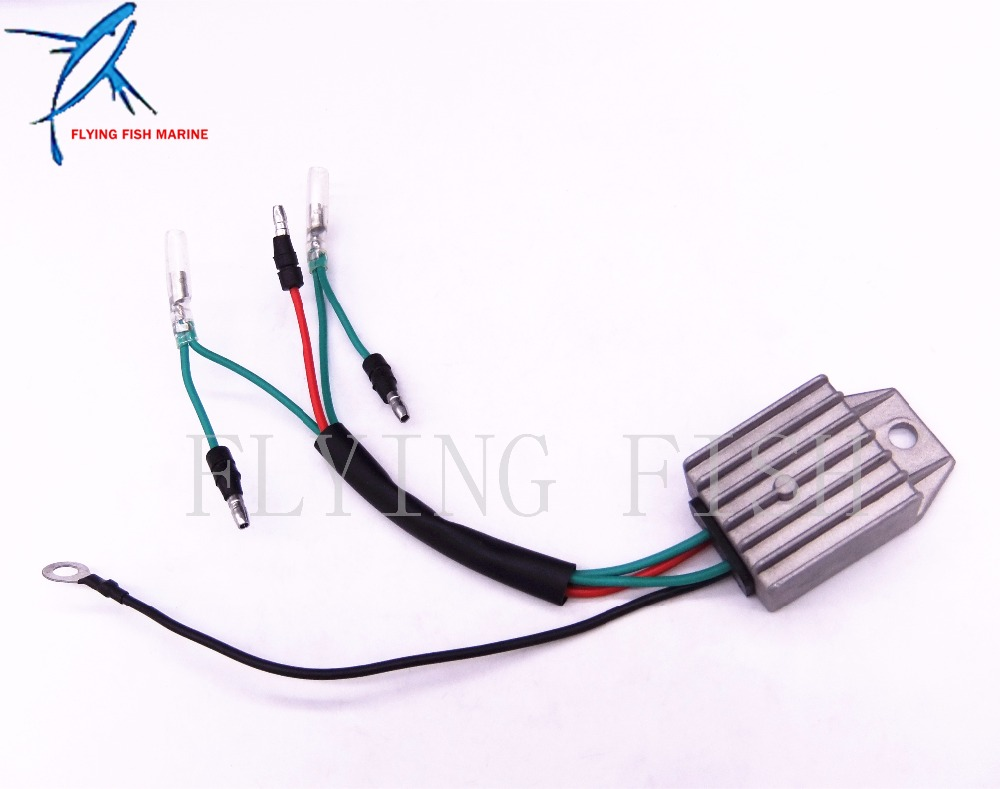 F15-07060001 Boat Motor Rectifier & Regulator Assy for Parsun 4-Stroke F8 F9.8 F9.9 F13.5 F15 Outboard Engine