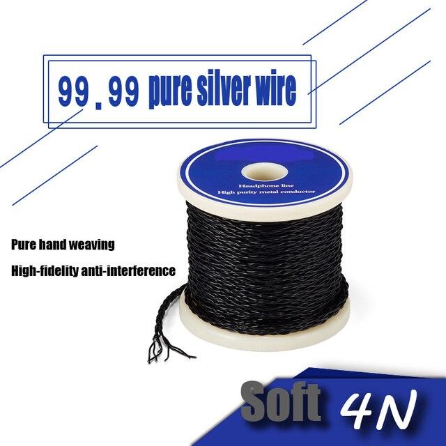 Пользовательский mmcx A2DC 0,78 2PIN ie80 IE8I IE80S интерфейс 99.99% Стерлинговое Серебро 4N обновленный кабель ручной работы Hi-Fi защита от помех