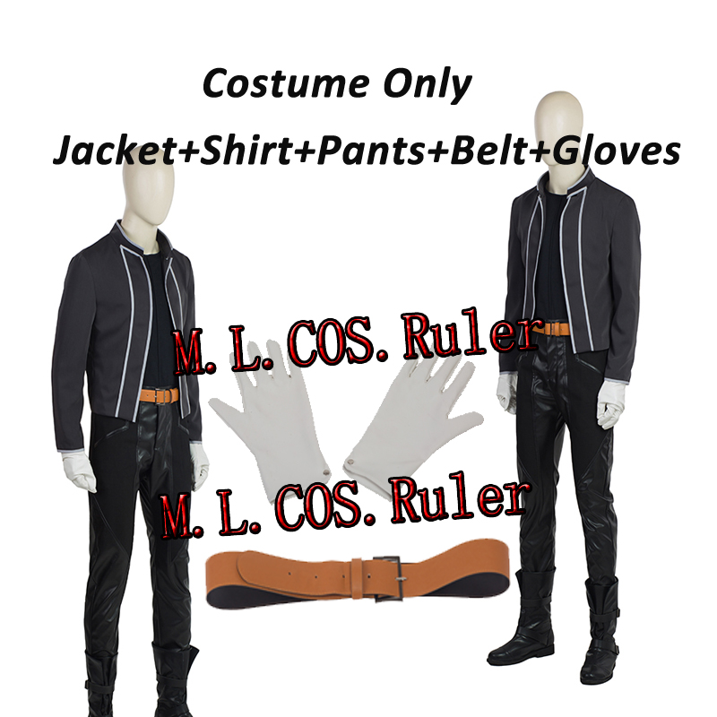 Custom Made Fullmetal Alchemist Edward Elric Cosplay Costume High Quality Anime Cos For Halloween Free Shipping