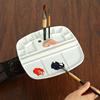 Flipping Type Paint Palette Watercolor Painting Palette Professional Acrylic Paint Plastic Palette For Art Supplies