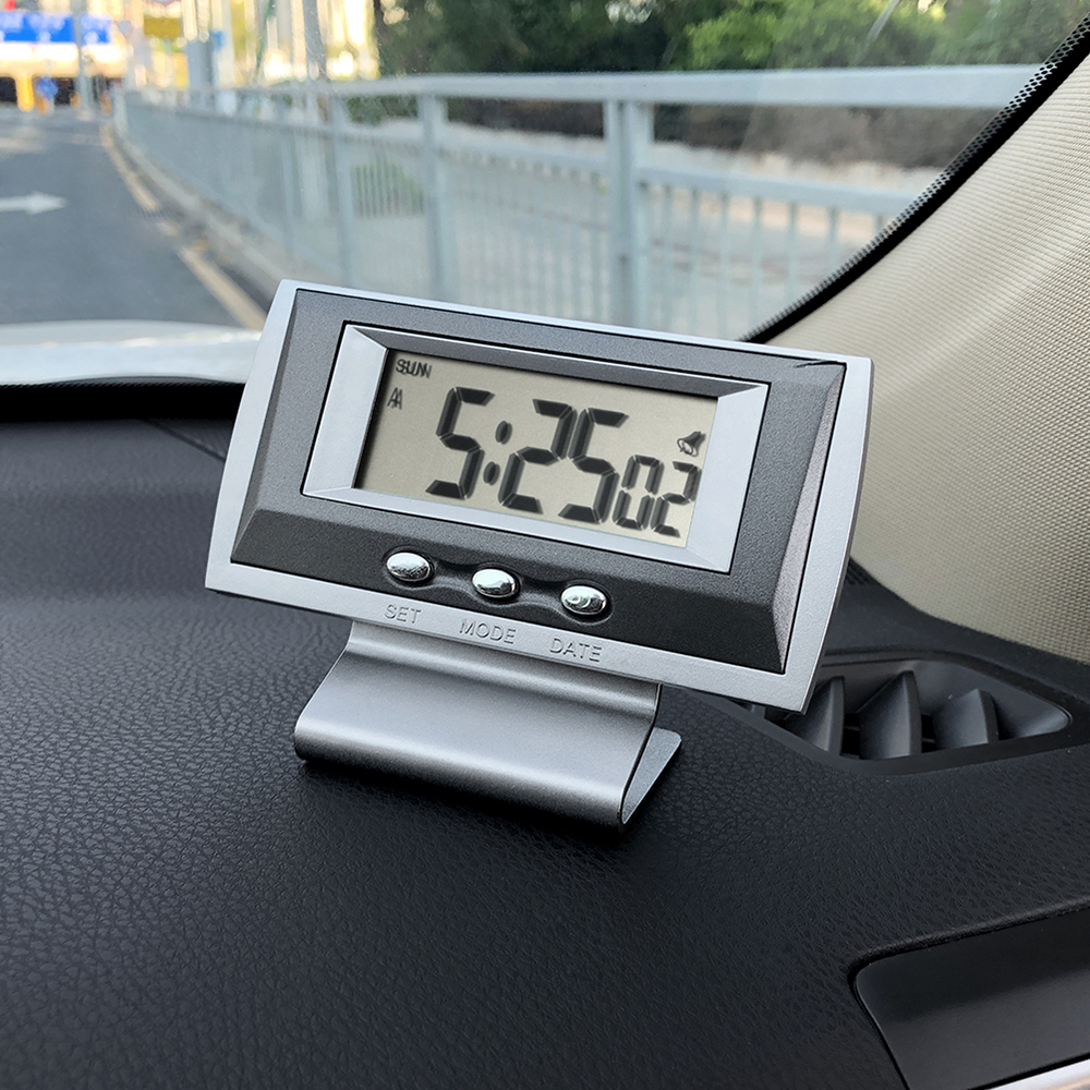 Car Clock Ornament Automobiles Interior Dashboard Decoration Time Display Ornaments Auto Watch Clock In Automotive Accessories|  - title=
