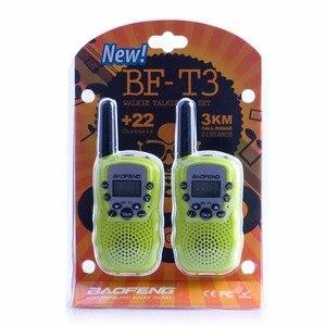 Image 5 - 2 шт. Baofeng Мини Портативная рация для детей 2 Вт двухстороннее радио портативный детский приемопередатчик игрушки радио подарок T3 BF T3