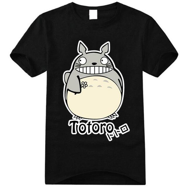 2017 New T Shirts Women Summer Fashion Japanese Kawaii Shirt Cute Cartoon Printed Totoro Graphic Tee Short Sleeve Female T-shirt