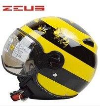 Casque moto zeus helmet motorcycle open face zs-210c casco jet casco moto vintage many color M L XL XXL DOT approv