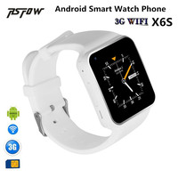 RsFow 3G Wifi Android Smart Watch X6S With Camera Video Whatsapp Facebook Support Sim Card Play