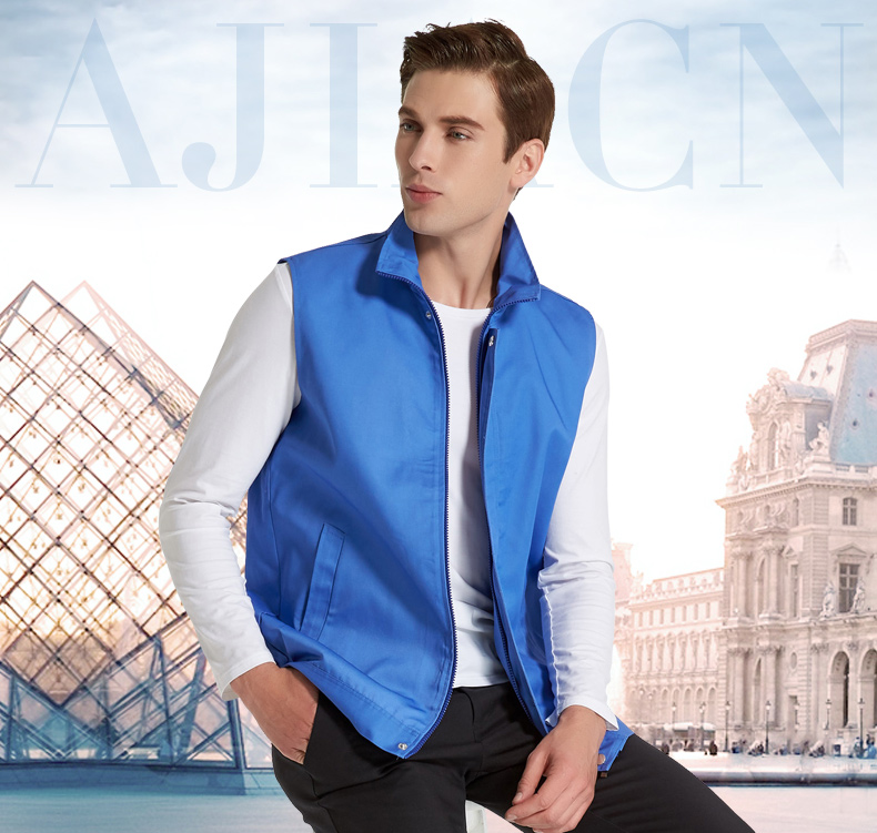 Silver fiber anti-radiation waistcoat, computer room high protective clothing, silver fiber sterilization vest.EMF