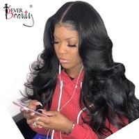 Pre Plucked Full Lace Human Hair Wigs For Women Black Brazilian Glueless Full Lace Body Wave Wig 180% Density Ever Beauty Virgin