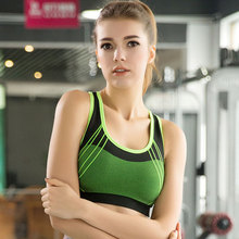 2016 Women Yoga Bra Sports Bra Running Gym Fitness Athletic Bras Padded Push Up Tank Tops