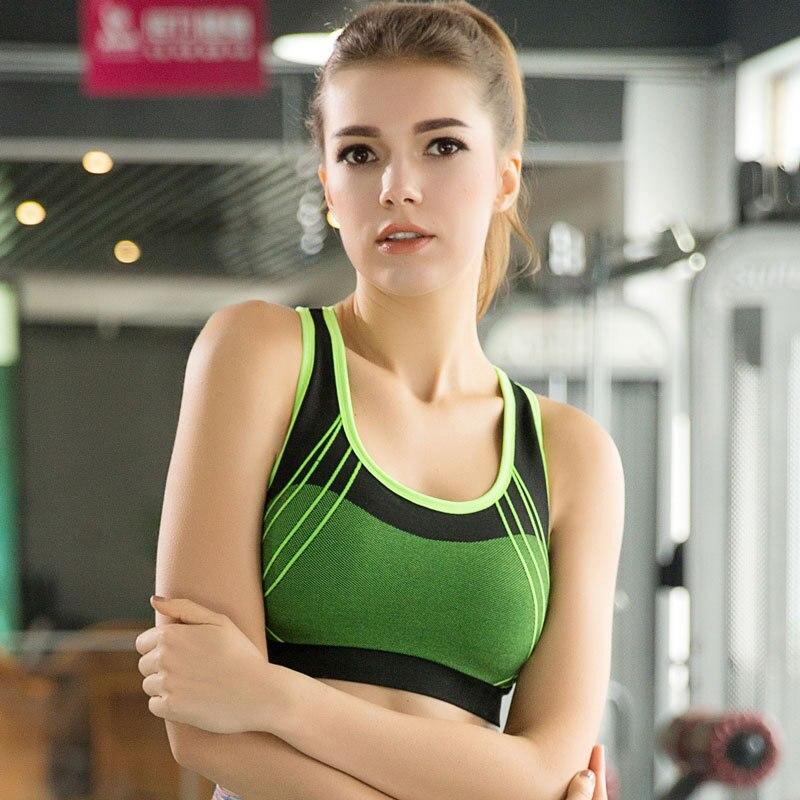 2016 Women Yoga font b Bra b font font b Sports b font font b Bra