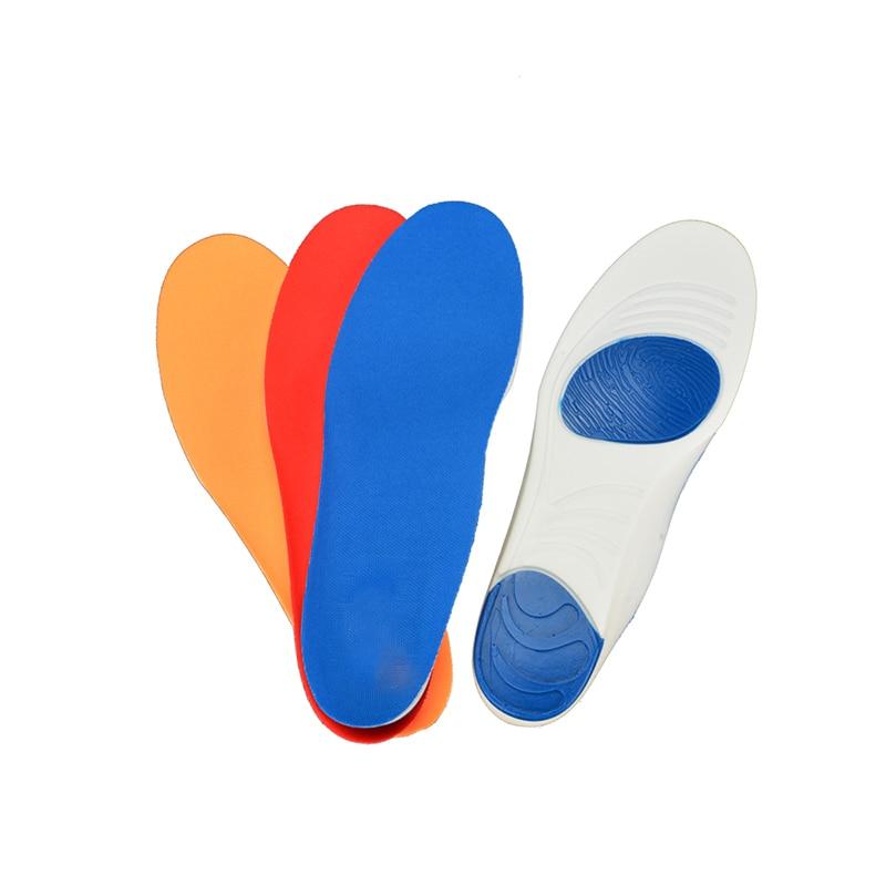 3pair / lot PU sporta zolītes Sviedru absorbcijas spilventiņi Braukšanas sporta apavu ieliktņi Elpojoši zolītes kāju kopšanai Expert Vīrieši un sievietes