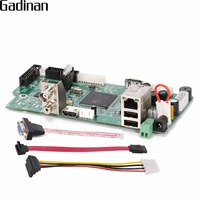 GADINAN 4CH 1080P NVR DVR Network Video Recorder Mini Board Onvif P2P Cloud XMEYE CMS Multi