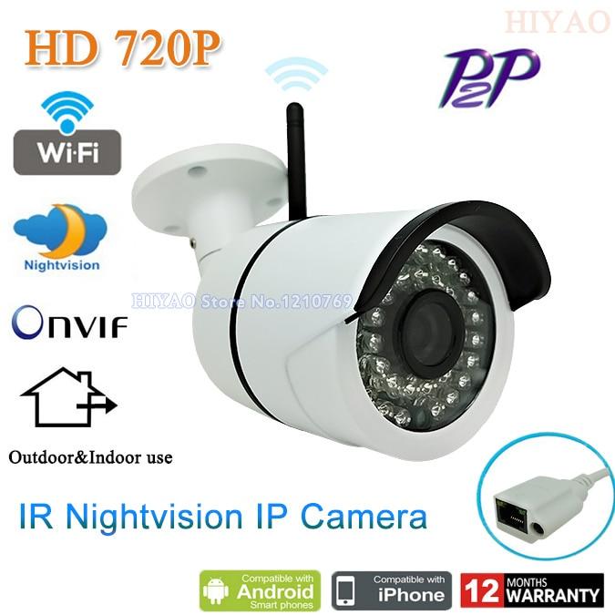 H 264 Video Compression Waterproof Outdoor HD 720P CCTV Wireless Surveillance IP font b Camera b