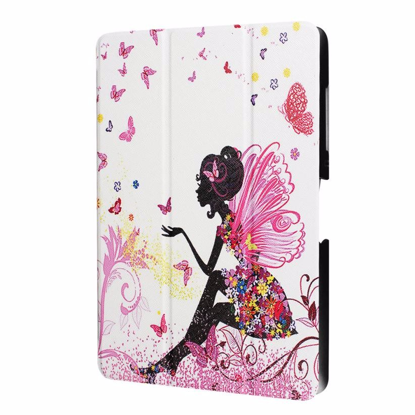Intelligent Sleep Folding Stand Painted Leather Case Cover For Acer Iconia protector tablet acer one 10 B3-A30 Case for tablet