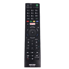 Controle remoto universal de tv RM L1275, controle remoto para sony tv netflix RMT TX100D RMT TX100E RMT TX102D KDL 43W808C KDL 50W755C