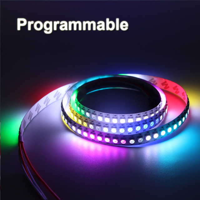 3060144 pixels programmable individual addressable led strip light 3060144 pixels programmable individual addressable led strip light ws2812b ws2811 built aloadofball Choice Image