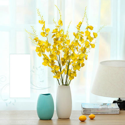orchid artificial flowers home decoration orchid silk flowers