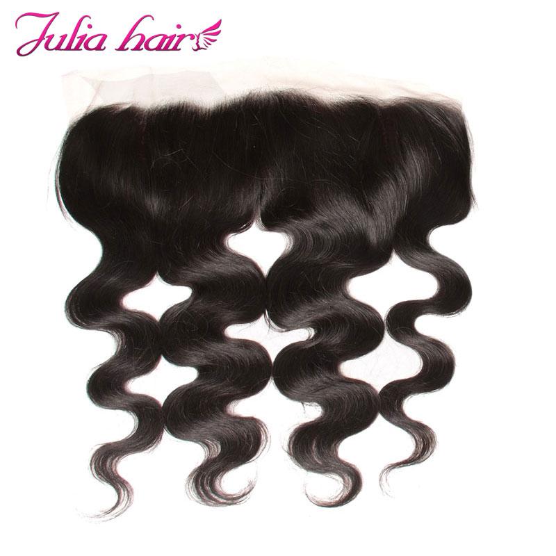 Ali Julia Hair Lace Frontal Closure Brazilian Body Wave Human Hair 13 4 Ear to Ear