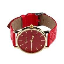 Montre Unisex Faux Leather Quartz Watch Women Mens Geneva Watches Sports Men Dress Clock Male Hours Relogio Reloj #San