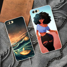 Cartoon Phone Case For Huawei Honor V10 V 10 SOFT TPU Silicone Back Cover For Honor V10 Protective phone shell(China)