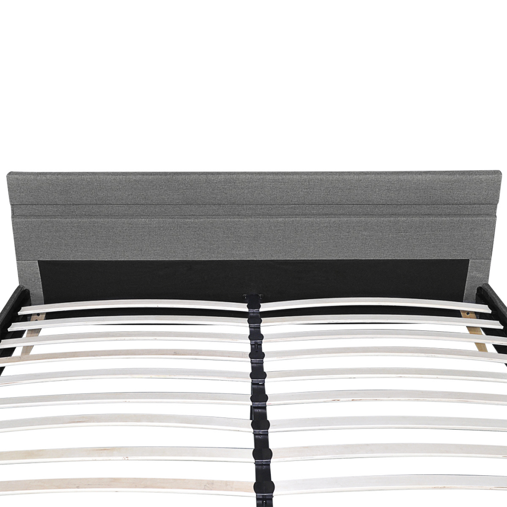 Ikayaa diseño moderno cama de cuero artificial madera cama ...