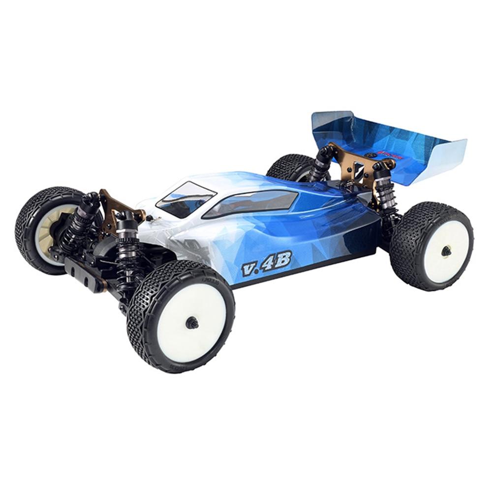 Oyuncaklar ve Hobi Ürünleri'ten RC Arabalar'de VKAR YARıŞ V.4B 1:10 80 km/saat 2.4 GHz 2CH 4WD Fırçasız RC Kamyon RTR'da  Grup 1