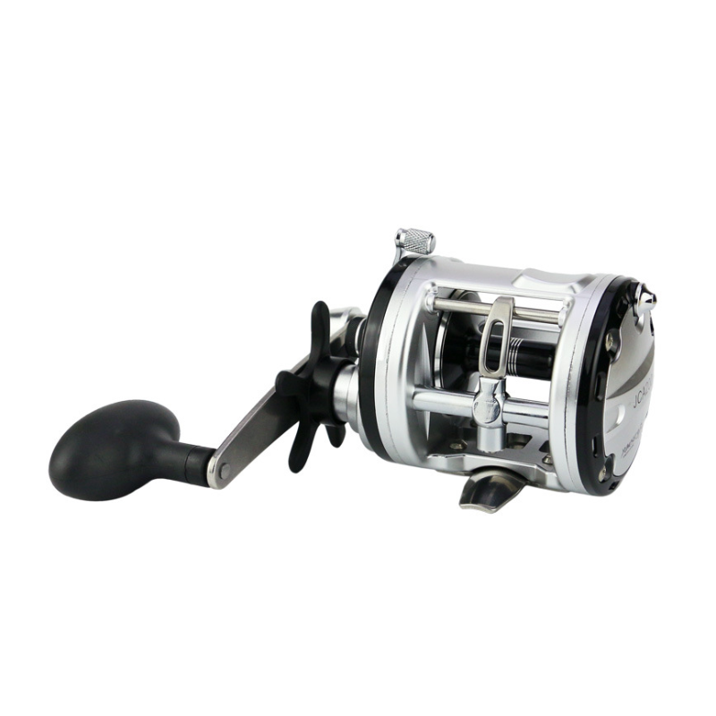 12+1BB bearing Fishing reels Cast Drum wheel Bait casing fish line wheel 200/300/400/500 Right handle gear ratio 5.6/4.2/4.5/5.2