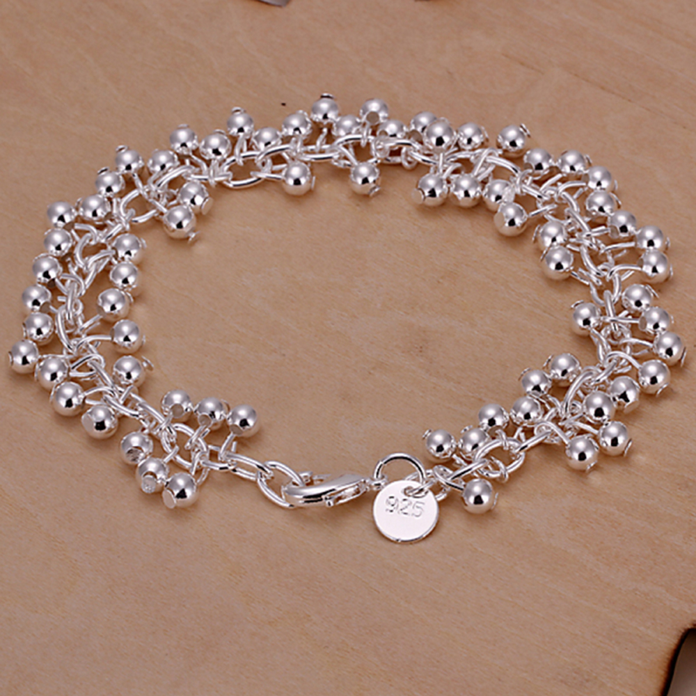silver on wire blue anklet dp bracelet fish real hook amazon com handmade the
