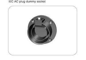 Image 1 - IEC62196 EV Type2 ソケットホルスター EVSE Secure ホルダー/ドック EV 充電ステーションコネクタ Type2 プラグホルスタードックオリジナル