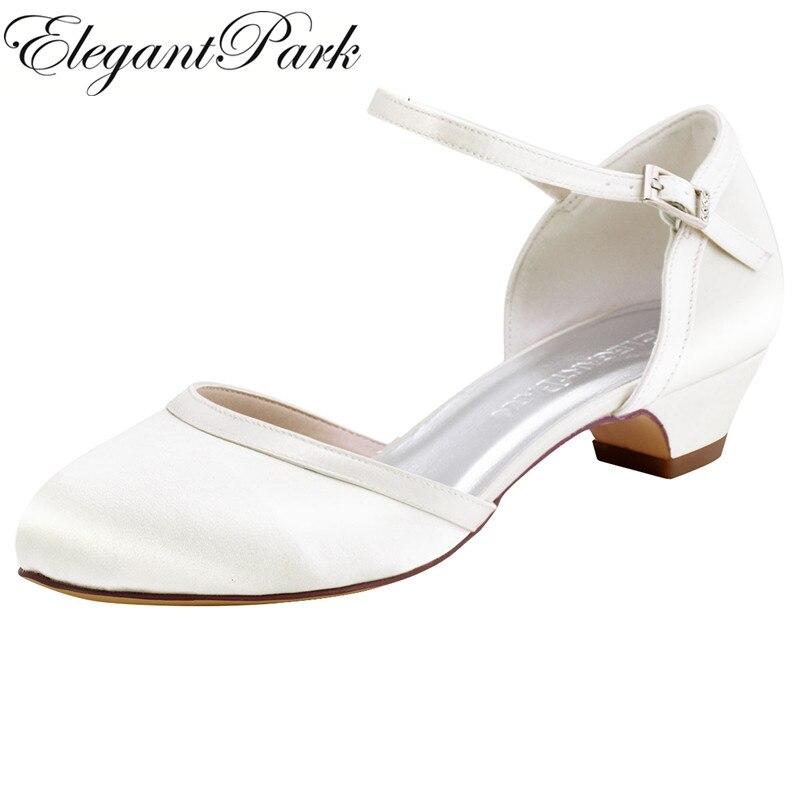 chaussure ivoire blanches mariage escarpins femme talon escarpins mariage escarpins bride cheville escarpins bout rond chaussures femme talon low heel satin