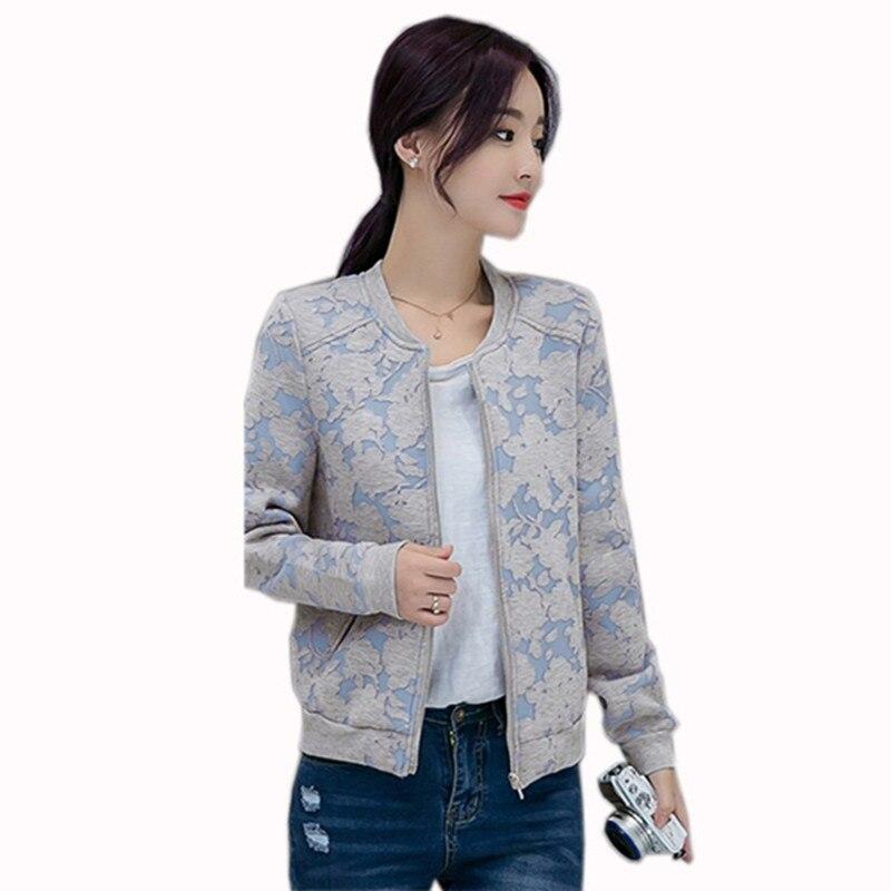 S-2xl mujeres invierno primavera de manga larga jacquard floral chaquetas de abr