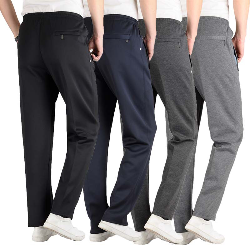 Spring Autumn Men Casual Pants Loose Sweatpants Men Basic Trousers Tracksuit Bottoms Sportswear Business&casual Straight Pants