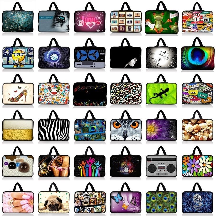 7.9 10.1 11.6 13 14 15.6 17.3 17.4 13.3 15.4 Inch Laptop sleeve bag Notebook Case Tablet PC Sleeve Cover For ipad Asus Acer HP
