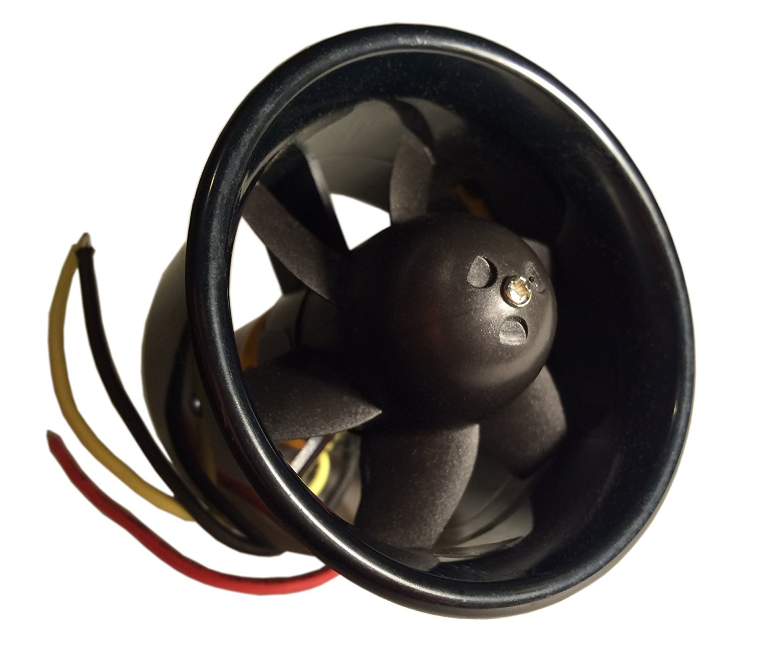 EBOYU(TM) 55mm EDF set Duct Fan Unit with QF2611 3500KV Brushless Outrunner Motor for EDF RC Jet Aircraft