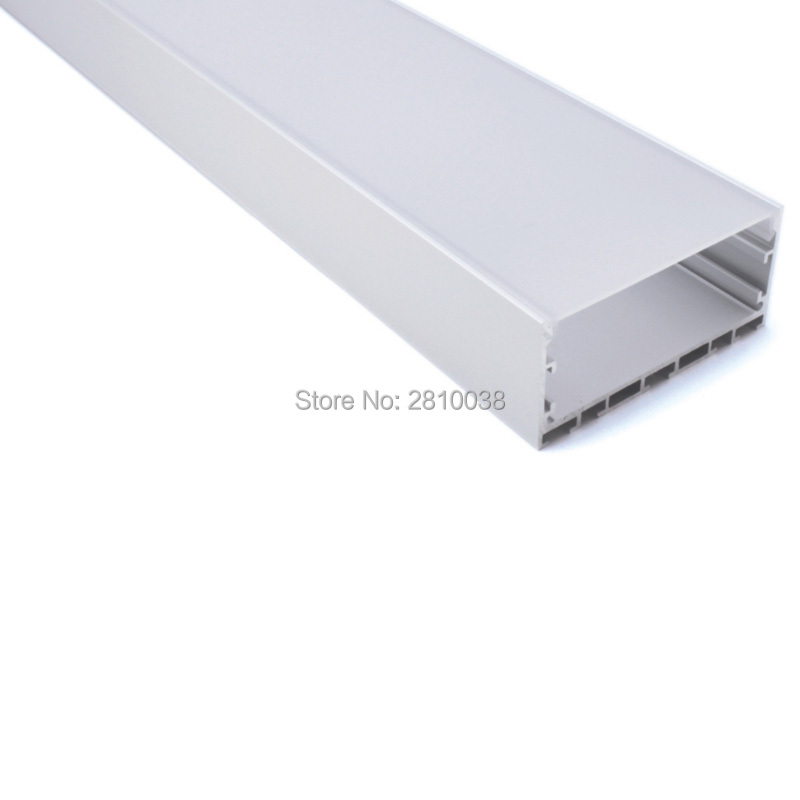 100 X 2M Sets/Lot New arrival led aluminium profile for led strip Most wide U style aluminum led extrusions for pendant lamps
