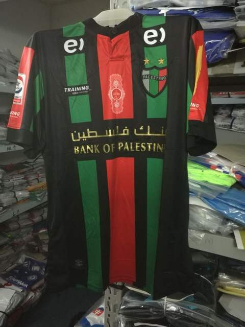 9c2104e2c45 Online Shop Palestino Chile football club Team soccer shirt Map of  Palestine Rare Club Deportivo Palestino Soccer in stock spot send factory