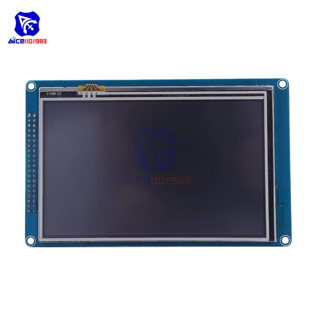 """5.0 """"5.0 pouces TFT LCD Module d'affichage SSD1963 avec écran tactile carte SD 800*480 résolution pour Arduino AVR STM32 ARM"""