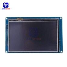 "Diymore 5.0 ""5.0 אינץ TFT LCD תצוגת מודול SSD1963 עם מגע לוח SD כרטיס 800*480 רזולוציה עבור arduino AVR STM32 זרוע"