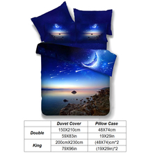 3D Galaxy Bedding Set Universe Outer Space Themed Bedspread Bed Linen Bed Duvet Cover Set Comforter Bedding sets pillowcase
