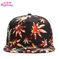 New Floral Snapback Caps Flat Hats Baseball Cap Bone Casual Adjustable Hip Hop Snapbacks Gorras For Men Women Casquette Hats