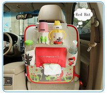 Multi-Pocket Back Seat Storage Bag Stroller Car Seat Organizer Holder Car Cup Food Storage Hanging Bag Baby Kids Diaper Bag cartoon bear sailboat car organizer seat back storage bag hanging holder multi pocket travel bags car styling for children kids