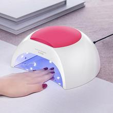 2019 Top Fashion Nail Lamp Factory Direct Selling 48w Uv Led Sunshine 2 Polish Phototherapy Machine Sun2uv Curing Gel