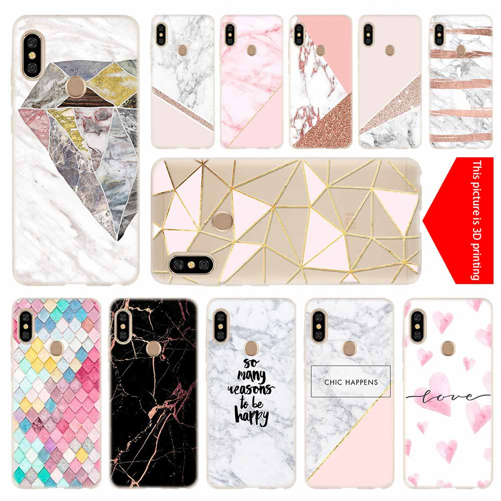 Cover Pink Marble Xiaomi Redmi Tpu-Case Soft-Silicone 5-Plus 5a 6a No for 3-4x4a/5-plus/5a/..
