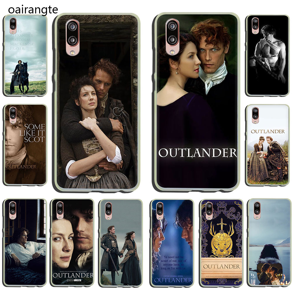OUTLANDER TV Hard Phone Case for Huawei P30 P20 P8 P9 P10 Plus Lite Mini 2015 2016 2017 Pro smart 2019 image